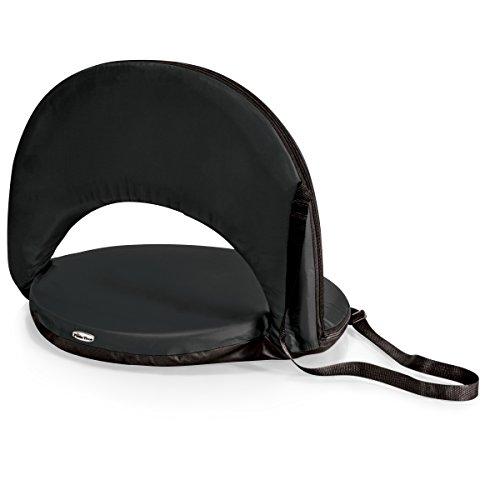 Picnic Time Portable Recreation Reclining 'Oniva' Seat, Black
