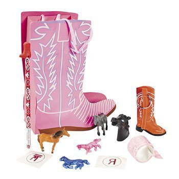 Pink Cowgirl Boot Shaped Filled Treat (Boot Shaped Filled Treat Bag)