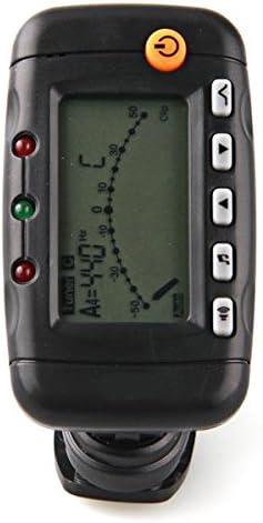 eno EMT-320 Afinador Metrónomo Tuner Digital LCD para Guitarra ...