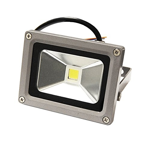 ETOPLIGHTING Flood Wash Light, LED Indoor Outdoor Security Waterproof Landscape Lighting APL1182, 10W Warm White 120V For Sale