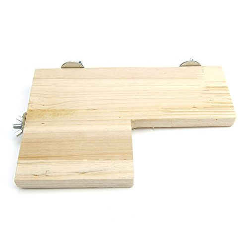 Alfie Pet - Charon Wood Platform for Mouse, Chinchilla, Rat, Gerbil and Dwarf Hamster