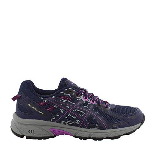 ASICS Women's Gel-Venture 6 Running Shoe, Peacoat Orchid, 11 M US
