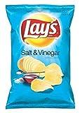 Lay's Potato Chips, Salt & Vinegar, 10.5 oz, (pack of 3)