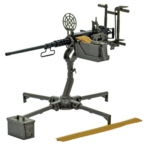Tomytec Little Armory LD009: M2 Heavy Machine Gun (Anti-aircraft Gun) Plastic Model Kit