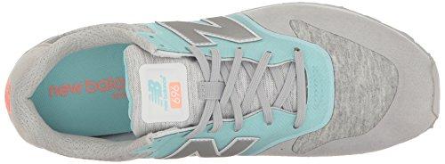 Nuovo Modello Da Donna Wl696 Riprogettato Sneaker Azzurro / Bianco
