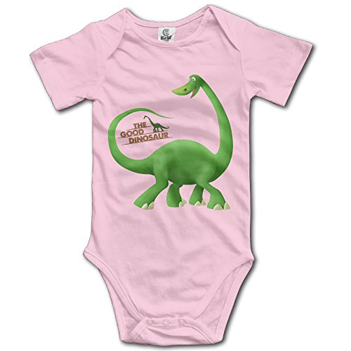 NINJOE Infant The Good Dinosaur Short-Sleeve RomperPlay Suit For 24 Months Pink (Pink Power Ranger Toddler Costume)