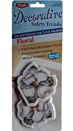 Floral 8 Decorative No Slip Safety Treads