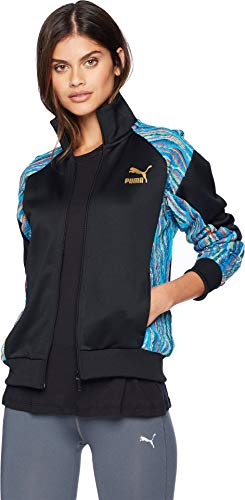 PUMA Women's PUMA x Coogi Jacket Puma Black Large (Coogi Coats)