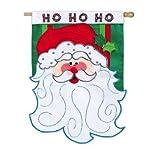 Santa Ho Ho Ho Vertical Flag Review