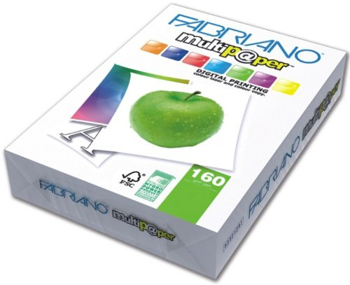Creative World Of Crafts Ltd - Risma di carta 160 g/mq, formato A3, adatta a diversi usi, colore bianco 53529742
