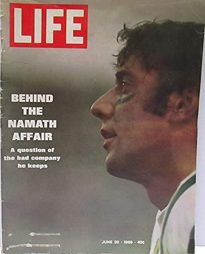 Life Magazine - June 20, 1969 -- Cover: Joe (Joe Namath Cover)