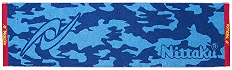 《닛타쿠》(Nittaku) 탁구 스포츠 타올 이마바리산 개구리 무늬무늬 NL-9217