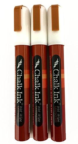 Chalk Ink Liquid Chalk Marker 6mm White 3 Pack