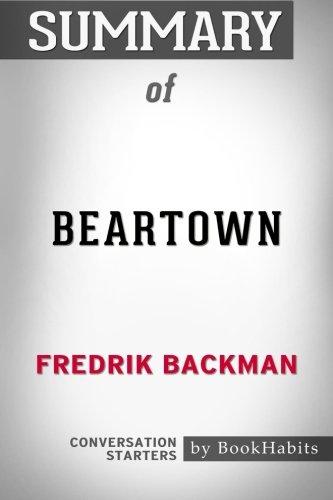 Summary Of Beartown By Fredrik Backman   Conversation
