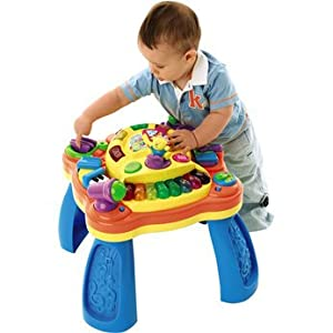 Bruin Music And Play Activity Table Amazon Co Uk Toys