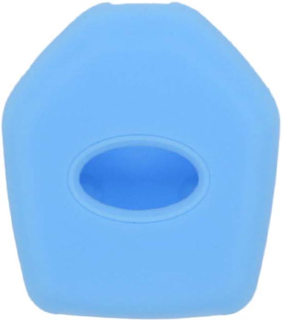 SEGADEN Silicone Cover Protector Case Holder Skin Jacket Compatible with SUBARU 3 Button Remote Key Fob CV4253 Pink