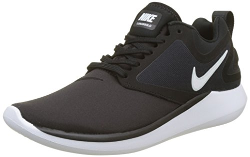 Shoes 001 (NIKE Women's LunarSolo Running Shoes, Black/White-Anthracite, 6.5)