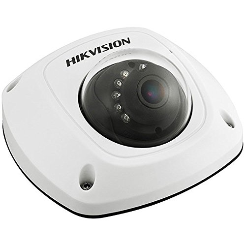 Hikvision 4MP DS-2CD2545FWD-IS,WDR Mini Dome Network Camera 2.8MM Built-in Micro SD/SDHC/SDXC Slot POE Home&Outdoor Security Surveillance Camera ONVIF English Version Firmware Upgradeable