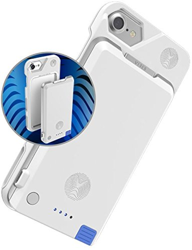 iPhone 8+ / 7+ / 6s+ / 6+ Battery Case, Vibes Modular BASEROX + VOLTROX Detachable Extended Battery Pack, iPhone Battery Case System with Detachable Portable Power Bank for iPhone 6+ / 6s+ / 7+ / 8+