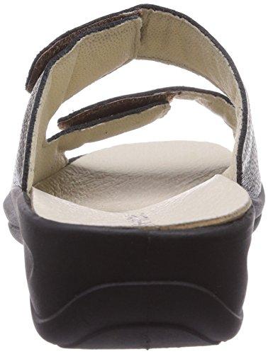 Rohde Verden - Zuecos de cuero para mujer marrón - Braun (bronze 38)