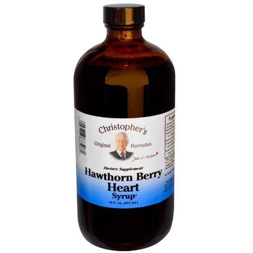 Формула доктора Кристофера Хоторн Берри Сердце сироп, 16 жидкую унцию