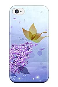 AqFYmRK4474Vvsxg Tpu Phone Case With Fashionable Look For Iphone 4/4s - Flower S