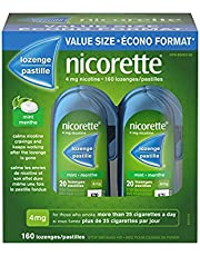 Nicorette Nicotine Lozenges, Quit Smoking Aid, Fruit, 4mg