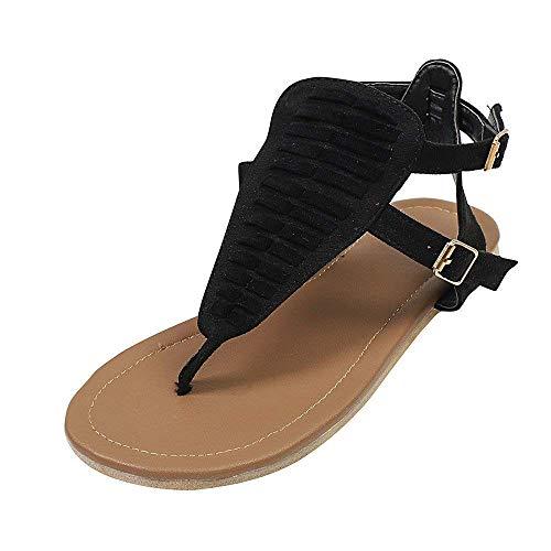 plats pour de couleur femmes pour 35 talons à Sandals gris plats chaussures à et eu Chaussures taille d'été Women plage talons Zhrui wgSq8fp