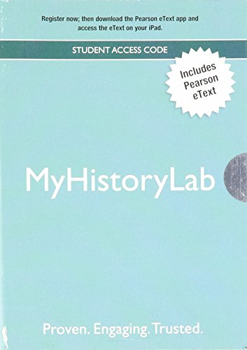 The World's History + Myhistorylab Pearson eText Student Access Code: Prehistory to 1500