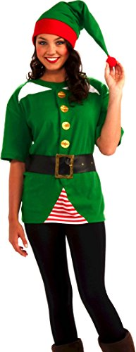 Forum Novelties Men's Jolly Elf Kit, Multi, One