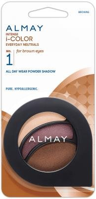 Almay Intense I-Color Everyday Neutrals Eye Shadow - Browns/105 (Pack of 2)