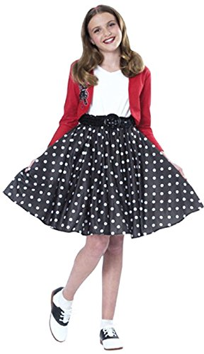 - Rubie's Costume Co Polka Dot Rocker Costume, Large, Large