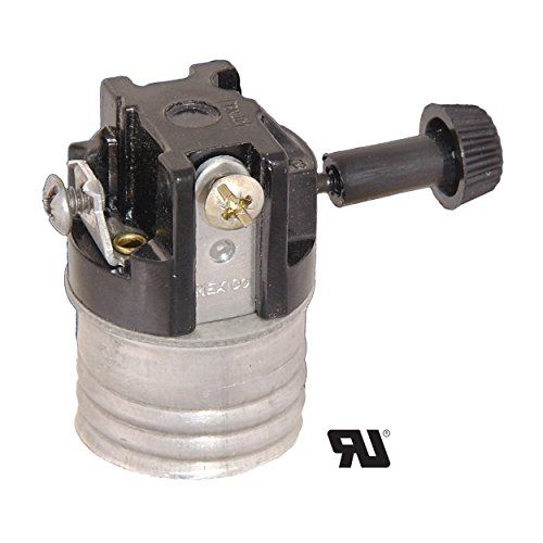 - B&P Lamp Tk Socket, 3-Term, 13/16