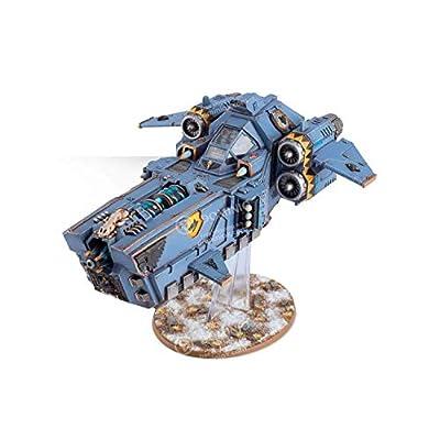 Space Wolves Stormfang Gunship Warhammer 40K: Toys & Games
