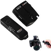 VILTORX® JY-120-C1 wireless remote shutter release for Canon EOS camera 80D 77D 70D 60Da 60D T6s T6i T5i T3i T5 T3 1200D 760D 100D 550D 1100D M5 M6