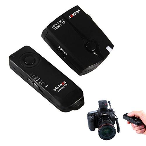 VILTORX® JY-120-C1 wireless remote shutter release for Canon EOS camera 80D 77D 70D 60Da 60D T6s T6i T5i T3i T5 T3 1200D 760D 100D 550D 1100D M5 M6 (Shutter Release Radio)