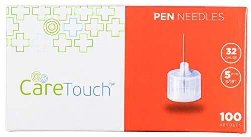 Care-Touch-Insulin-Pen-Needles-32-Gauge-316-Inches-5mm-100-Pen-Needles