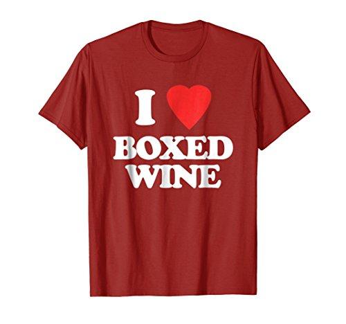 Mens I Love Boxed Wine T-Shirt funny saying sarcastic novelty 3XL (Boxed Wine T-shirt)