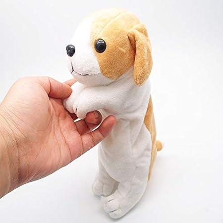 Estuche para lápices de peluche con diseño de perro para niños 25 cm Border Collie: Amazon.es: Hogar