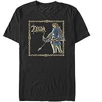 Nintendo The Legend of Zelda Breath of The Wild Frame Men's Graphic T-shirt