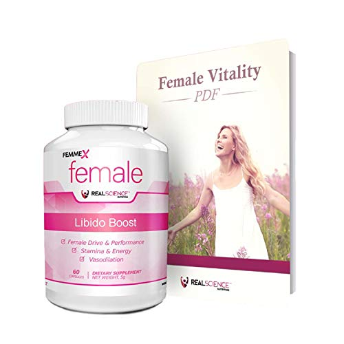 FemmeX | Intimacy Formula for Women | Better Intimate Experiences | 60 Capsules