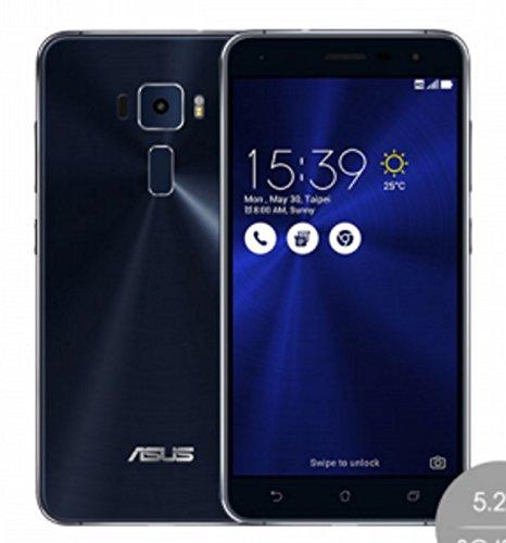 ASUS 5.2 ZenFone 3 ZE520KL Unlocked Cell Phone [4G LTE 3GB/32GB SAPPHIRE BLACK] - 1 Year Warranty
