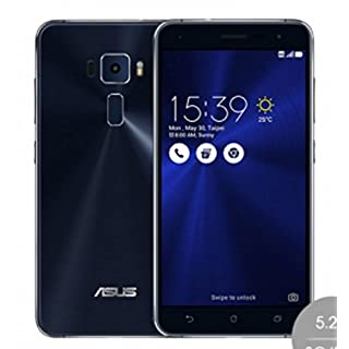 "ASUS 5.2"" ZenFone 3 ZE520KL Unlocked Cell Phone [4G LTE 3GB/32GB SAPPHIRE BLACK] - 1 Year Warranty"