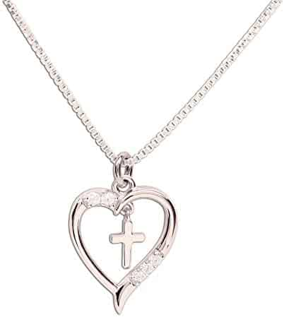 24ba4a6ae Girl's Sterling Silver First Communion