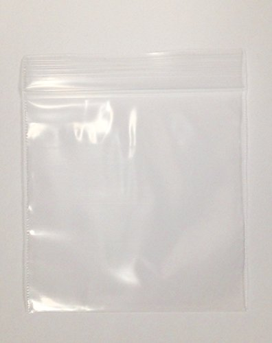 1.25″ x 1.25″,(125125) 2Mil Clear Reclosable Zip Lock Bags, case of 1,000