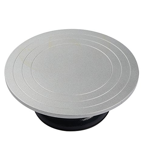 Falling in Art 12 inch in diameter Heavy Duty Metal Decorating Pottery Banding Wheel