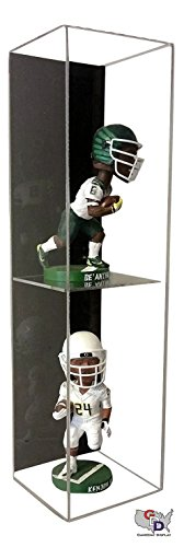 Bobble Head Display Case - GameDay Display Acrylic Wall Mount Double Bobblehead Display Case by