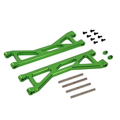 Atomik RC Alloy Front/Rear Upper Arm Green fits The Traxxas X-Maxx Replaces Traxxas Part 7729 RC Car & Truck Parts