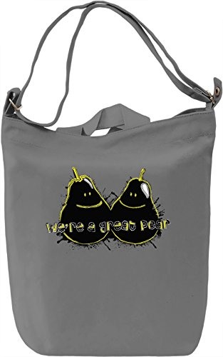 We're A Great Pear Borsa Giornaliera Canvas Canvas Day Bag  100% Premium Cotton Canvas  DTG Printing 