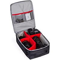 G-raphy Camera Insert Camera Bag with Sleeves for All Cameras (10(L) x 5(W) x 13(H))